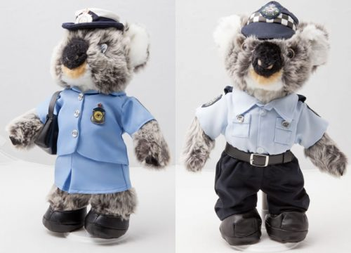 Special offer! Constable Cassie Koala & 'Summer Uniform' Constable Kenny Koala