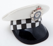 Constable Kenny AFP White Peak Hat