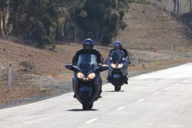 Route 66 - Police Legacy Ride training session