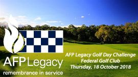Dust off the clubs for the AFP Legacy Golf Day challenge